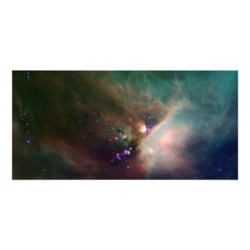 Rho Ophiuchi nebula Photo Print