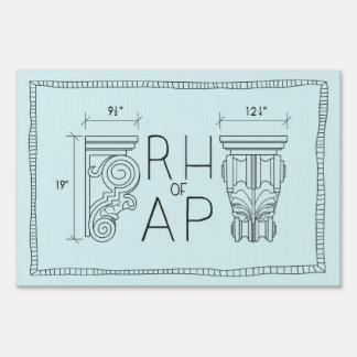 RHoAP Acronym Logo Yard Sign
