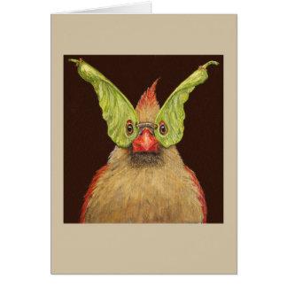 Rhoda la tarjeta cardinal enmascarada