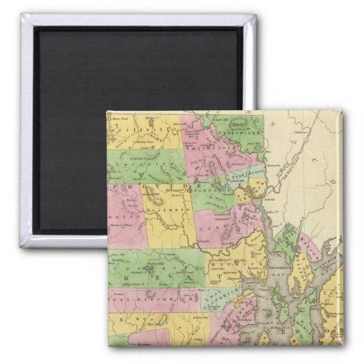 Rhode Island 3 2 Inch Square Magnet