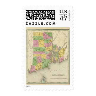 Rhode Island 3 Sello Postal