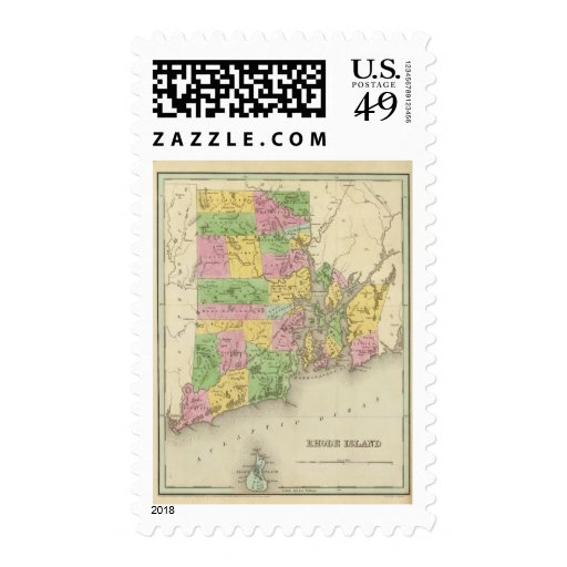 Rhode Island 3 Stamps