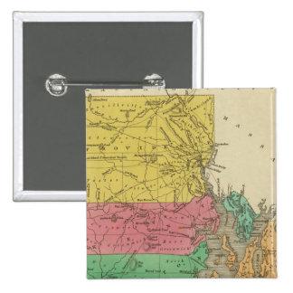 Rhode Island 5 Pin Cuadrado