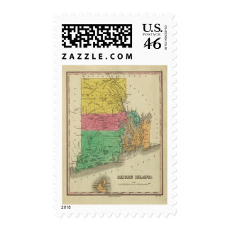 Rhode Island 5 Postage Stamps