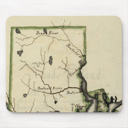 Rhode Island 6 Mouse Pad