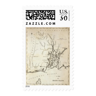 Rhode Island 8 Postage