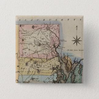 Rhode Island 9 Pinback Button