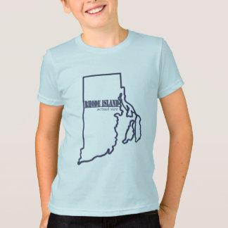 Rhode Island - Actual Size T-Shirt