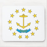 Rhode Island Anchor (HOPE) Mouse Pad