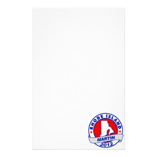 Rhode Island Andy Martin Personalized Stationery