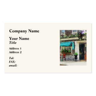Rhode Island - Antique Shop Newport RI Double-Sided Standard Business Cards (Pack Of 100)