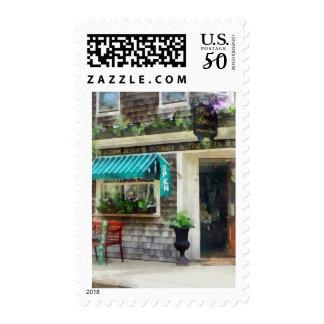 Rhode Island - Antique Shop Newport RI Postage
