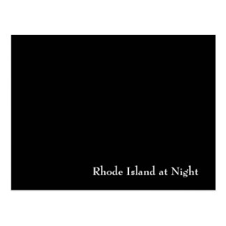 Rhode Island at Night Post Cards