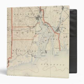 Rhode Island atlas 2 Vinyl Binder