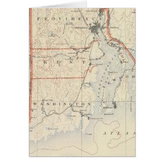 Rhode Island atlas 2 Greeting Card