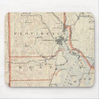 Rhode Island atlas 2 Mouse Pad