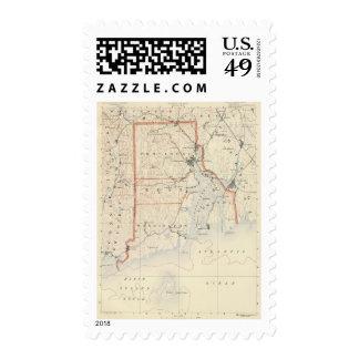 Rhode Island atlas 2 Postage Stamp