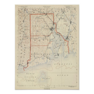 Rhode Island atlas 2 Poster