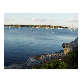 Rhode Island bays postcard