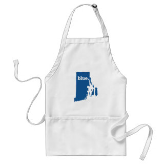 RHODE ISLAND BLUE STATE ADULT APRON