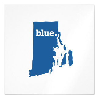 RHODE ISLAND BLUE STATE MAGNETIC CARD