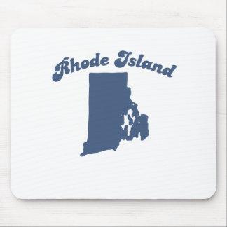 RHODE ISLAND Blue State Mousepads