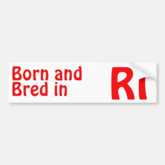 Rhode Island Bred (Bumper) Sticker