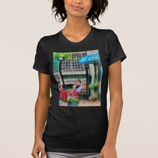 Rhode Island - café Newport RI Camiseta