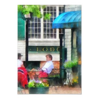Rhode Island - Cafe Newport RI Card