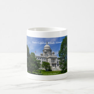 Rhode Island Capitol Mug