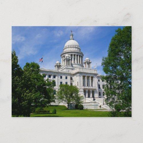 Rhode Island Capitol Postcard postcard