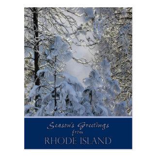 Rhode Island Christmas Postcards