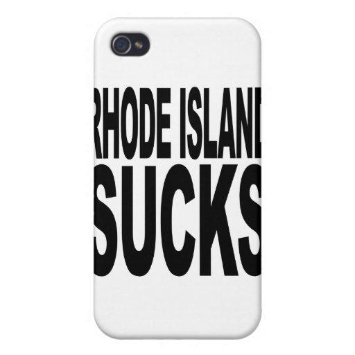 Rhode Island chupa iPhone 4 Cárcasa