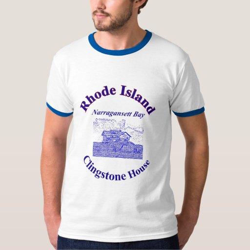 Rhode Island, Clingstone House Tee Shirt