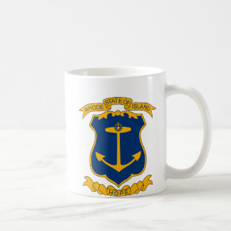 Rhode Island Coat of Arms Mug