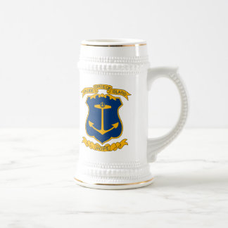 Rhode Island Coat of Arms Mug