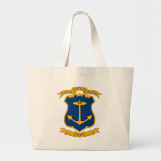 Rhode Island Coat of Arms Tote Bag