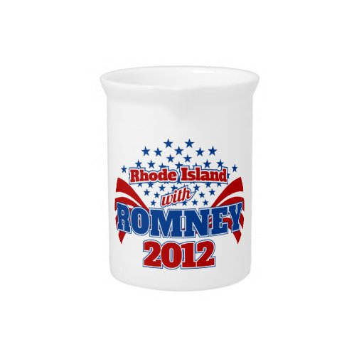 Rhode Island con Romney 2012 Jarra