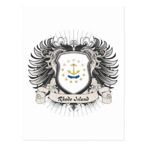Rhode Island Crest Post Cards