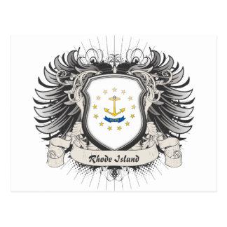 Rhode Island Crest Postcard