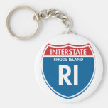 Rhode Island de un estado a otro RI Llaveros