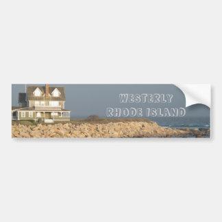 Rhode Island del oeste Bumpersticker Etiqueta De Parachoque