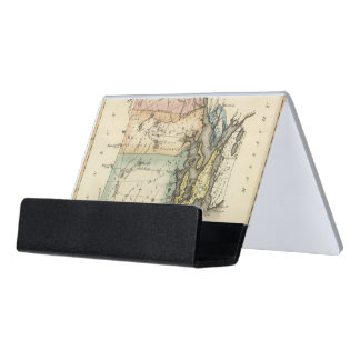 Rhode Island Desk Business Card Holder