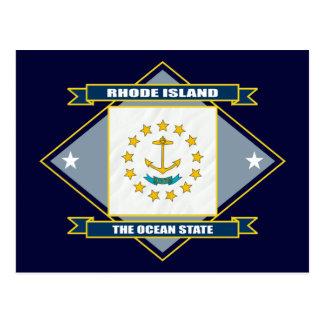 Rhode Island Diamond Postcard