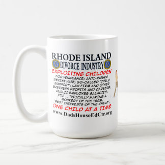 Rhode Island Divorce Industry. Mug