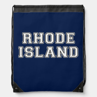 Rhode Island Drawstring Backpack