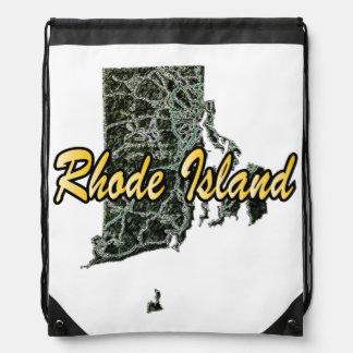 Rhode Island Drawstring Backpack