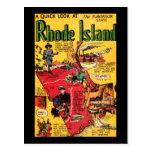 Rhode Island el estado de la plantación Postales