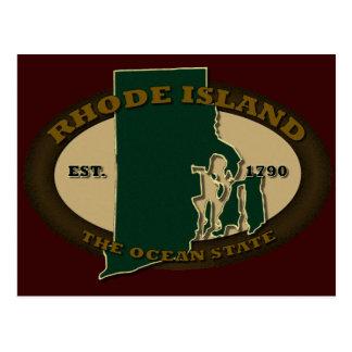 Rhode Island Est 1790 Postcard