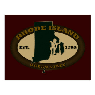 Rhode Island Est. 1790 Postcard